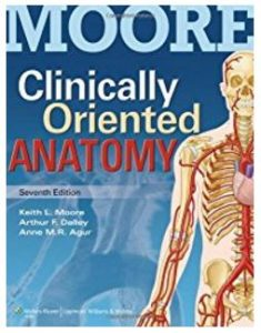 Moore's - Best anatomy books for medical students