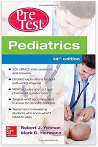 PreTest Pediatrics - Pediatrics Books for Medical Students