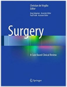 De Virgilio's - Surgery books for medical students