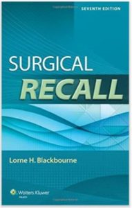 Surgical Recall - Surgery books for medical students